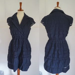 Taylor Navy fit Flare Dress 4